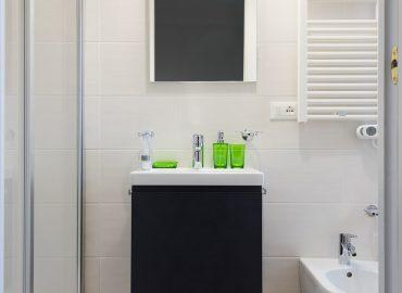 Dettaglio bagno della camera Arancione B&B a Firenze La Marmora 39