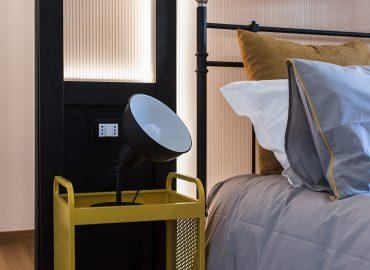Dettaglio suite blue del bed and breakfast in centro Firenze La Marmora 39