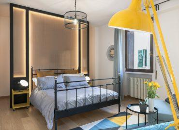 Camera blu suite del bed and breakfast in centro Firenze La Marmora 39