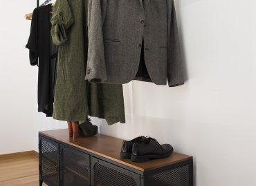Porta abiti camera blu del bed and breakfast in centro Firenze La Marmora 39