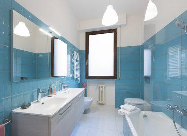 Bagno privato camera rosa del B&B vicino Duomo Firenze La Marmora 39