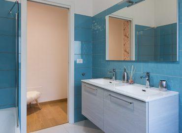 Bagno della camera rosa del B&B vicino Duomo Firenze La Marmora 39