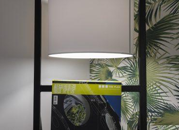 Lampada camera verde B&B Firenze per famiglie La Marmora 39