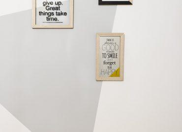 Illustrazioni della camera gialla del B&B centro Firenze La Marmora