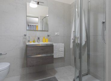 Bagno privato camera gialla del B&B centro Firenze La Marmora